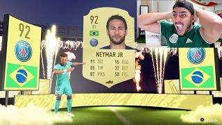 NEEEEEEEYMAR y luego PELEEE !! FIFA 20