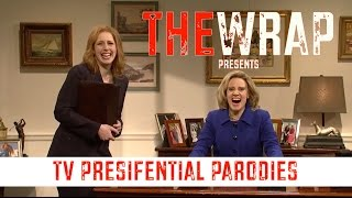 tv s best presidential parodies snl jimmy fallon aziz ansari and more