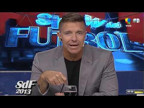 La emotiva despedida de Fantino de El Show del Fútbol