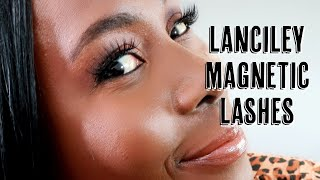 LANCILEY MAGNETIC EYELINER & EYELASHES | UNBOXING INVINCIBLE KIT, REVIEW & WIND TEST | ISOWA GALLERY
