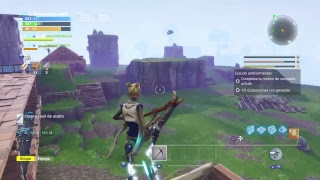 Playing fortnite save the world