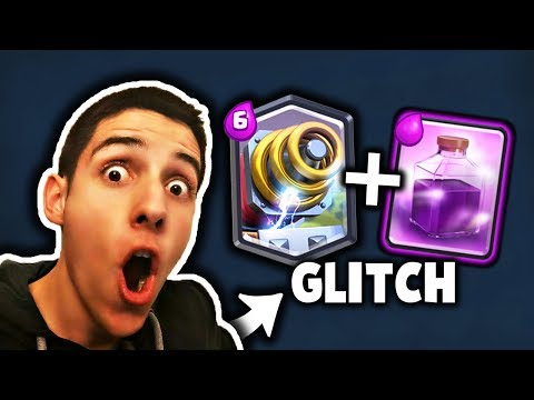 LEGENDARNI SPARKY + RAGE GLITCH - Clash Royale