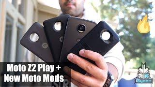Motorola Moto Z2 Play and New Moto Mods Hands On