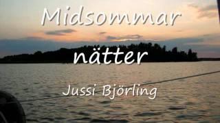 Midsommarnätter Jussi Björling