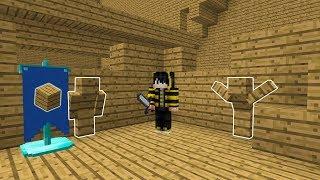 GÖRÜNMEYEN TAHTA OLDUM! - Minecraft SAKLAMBAÇ Mp3