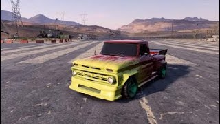 Need for Speed Payback tuneando el todoterreno CHEVROLET C10 STEPSIDE PICKUP