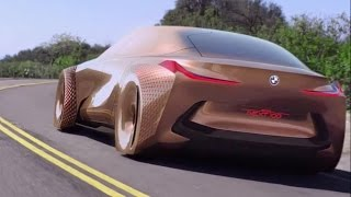bmw vision next 100 interior exterior and drive
