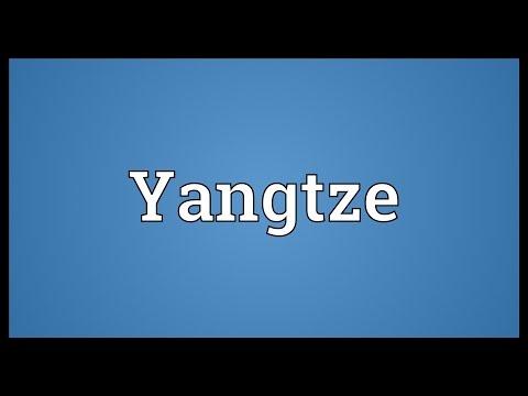 Yangtze Meaning