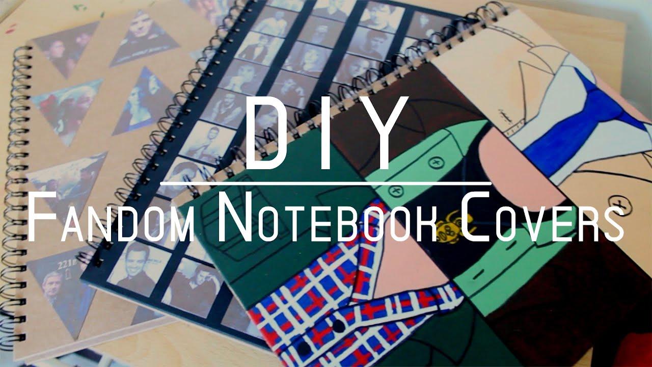 Diy Kpop Book Cover ~ Diy fandom notebook covers youtube