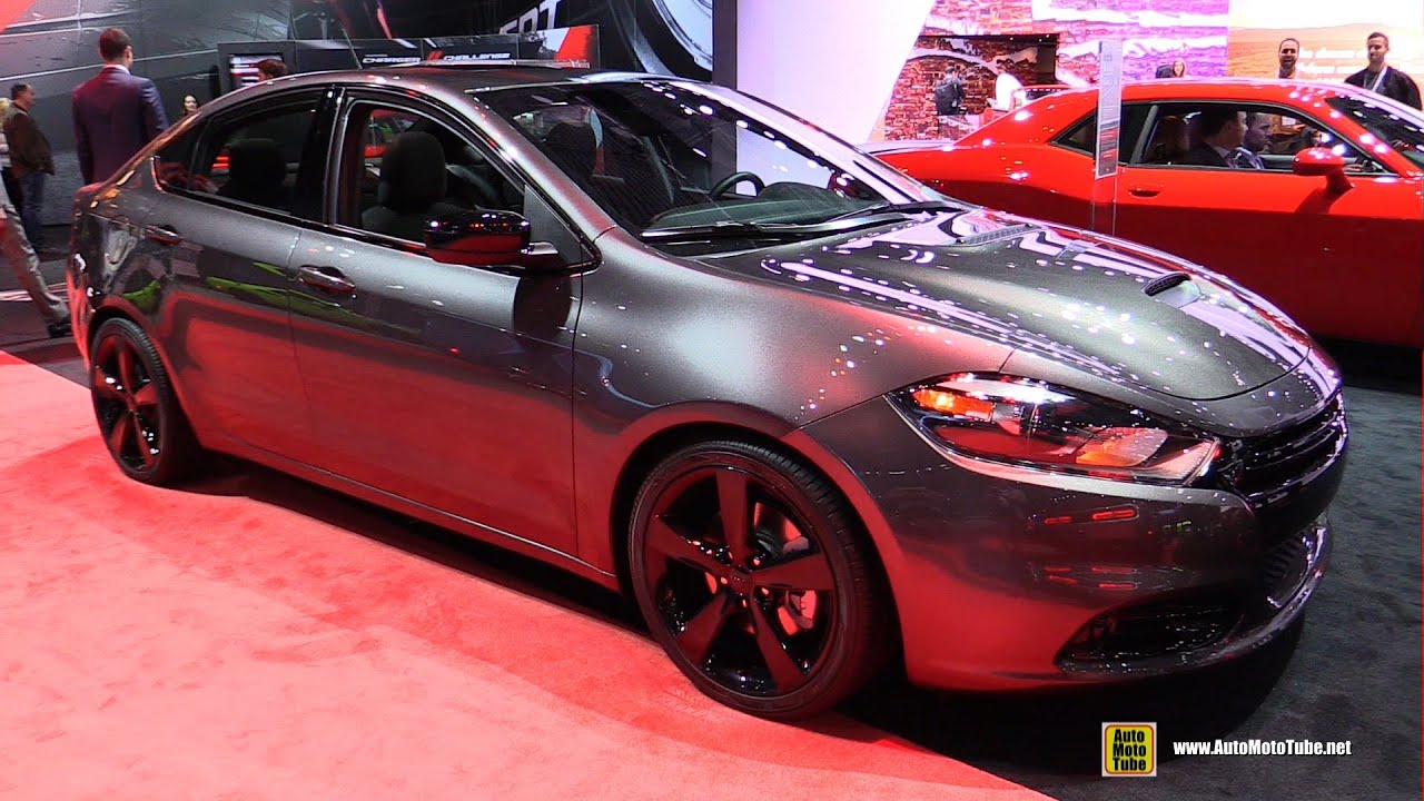 2015 Dodge Dart SXT with Blacktop Package - Exterior and ...