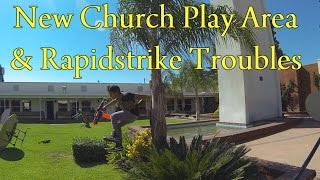 Indoor/Outdoor Church Nerf War - New Play Area & Rapidstrike Troubles (Games 1 & 2) (9/15/13)(Got a new day of gameplay videos up for you all to enjoy! If you liked the video, please like, comment, and subscribe. Stay tuned to my channel for more Nerf ..., 2014-08-04T18:00:04.000Z)