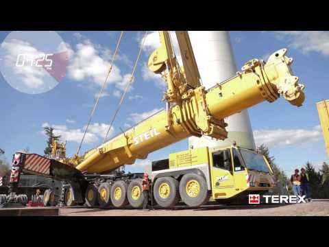 Terex AC 1000 - From lift to lift within five hours, with Steil