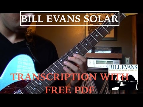 Bill Evans Solar Transcription (with TAB)
