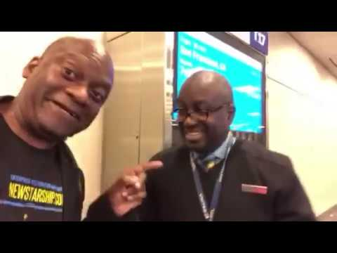 Kevin Brooks United Airlines Best Atlanta Agent Says Good Morning