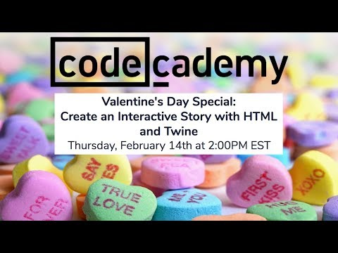 Livestream: Create an Interactive Story Using HTML and Twine