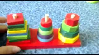 Обзор детская игрушка - развивающая пирамидка 3 в 1 (kidtoy.in.ua)(Интернет-магазин детских игрушек и хозтоваров KIDTOY - http://kidtoy.in.ua ВК - http://vk.com/kidtoy Отзывы наших покупателей..., 2014-10-08T18:46:44.000Z)
