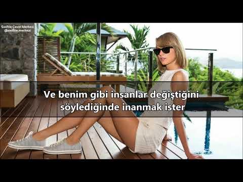 Taylor Swift - All You Had To Do Was Stay (Türkçe Çeviri)