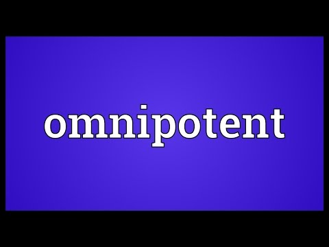 Omnipotent Meaning