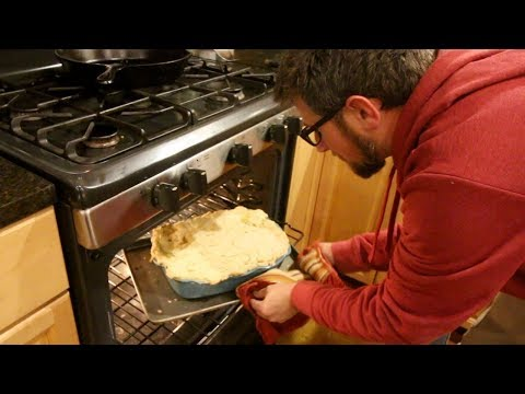 Making the Best Chicken Pot Pie From Scratch with Homemade Pie Crust Made with LARD
