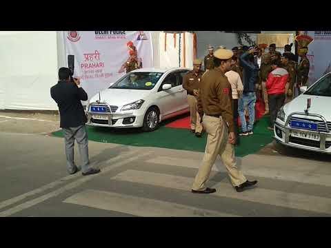 Delhi Police Commissioner Convoy