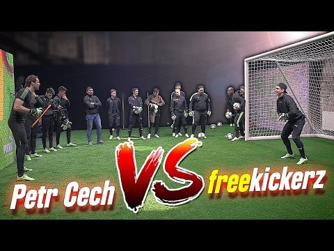 freekickerz vs Petr Čech ft. Giroud - Puma Event 2017