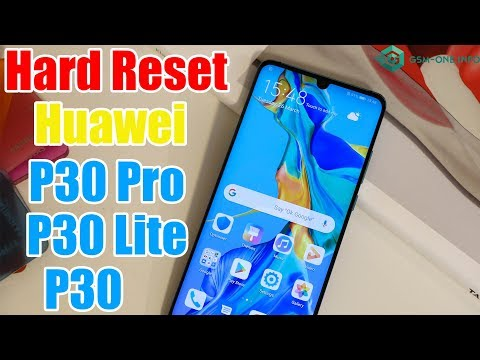 How To Hard Reset HUAWEI P30 Lite | P30 | P30 Pro