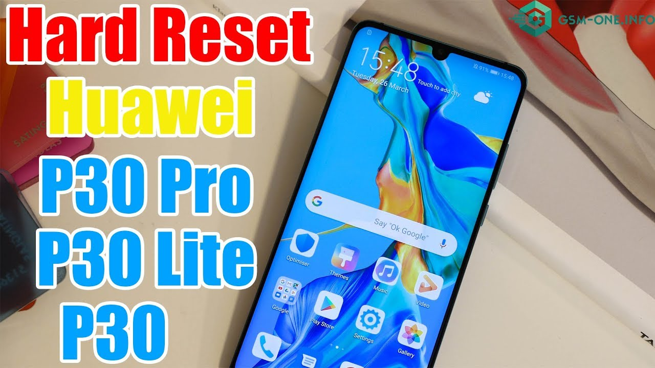 How To Hard Reset HUAWEI P30 Lite   P30   P30 Pro