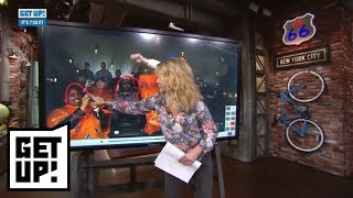 Michelle Beadle breaks down film of Get Up! crew getting wild at Mets game | Get Up! | ESPN