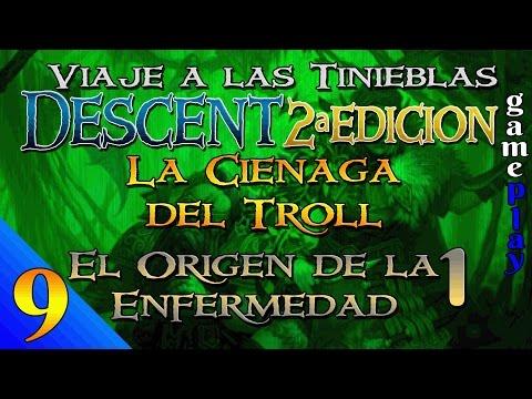 Descent 2ª Ed. - Campaña de La Ciénaga del Troll - Gameplay 9 - El Origen de la Enfermedad 1