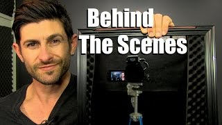 How To Make A YouTube Video | Behind The Scenes Of An Alpha M. Video | YouTube Tutorial