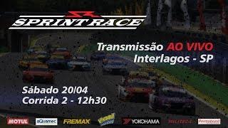 Ao Vivo - Sprint Race - Corrida 2 Etapa Interlagos (Sp) - Sábado 20/04 12:30h