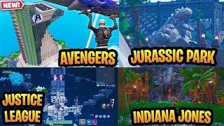 Popular Movies Recreated In Fortnite (Avengers, Jurassic Park, Star Wars)
