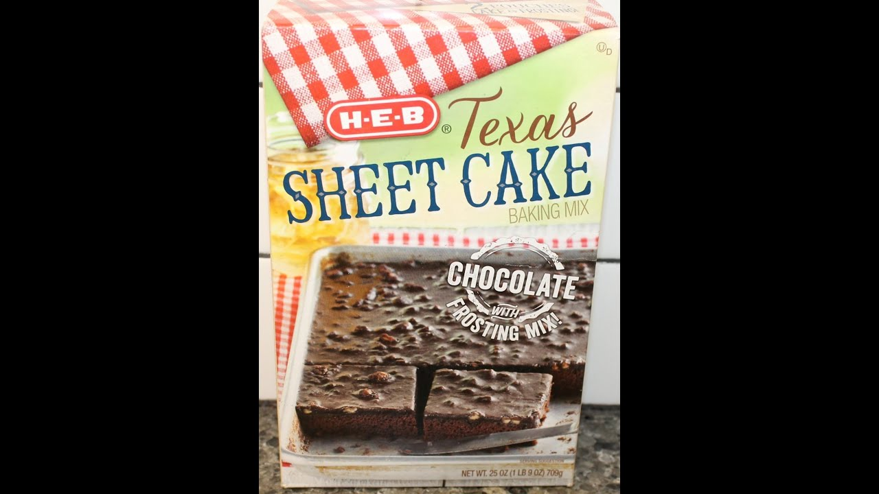 Making HEB Texas Sheet Cake YouTube