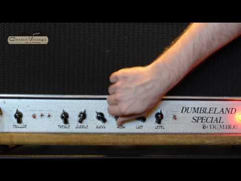 Dumbleland Special amp - tone demo