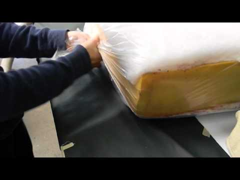 How to Insert Foam into a Cushion Casing