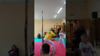 капоэйра дети capoeira kids professor  Toinho режионал