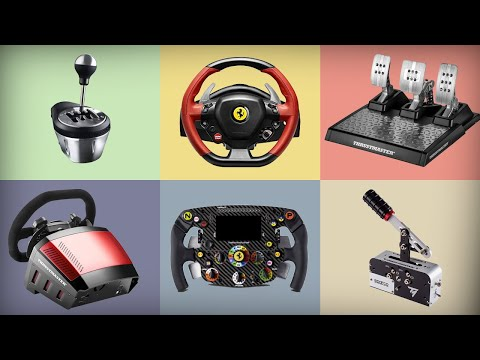 Explaining Thrustmaster's Entire Sim Racing Ecosystem (Buyers Guide)