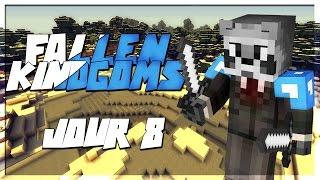 FALLEN KINGDOMS AVEC MODS IV : À l'ATTAQUE ! | JOUR 8 - Minecraft FK Moddé thumbnail