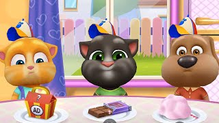 MY TALKING TOM FRIENDS 🐱 ANDROID GAMEPLAY #162 -TALKING TOM AND FRIENDS BY OUTFIT
