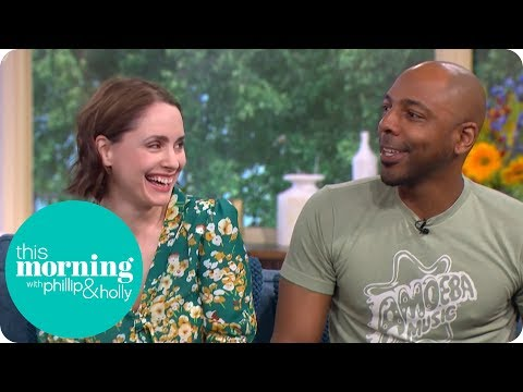 'The Loch' Stars Laura Fraser and Don Gilét Could Not Deal With the Scottish Midges | This Morning