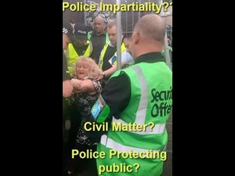 Police impartiality? Civil matter? Please Share, Download etc...