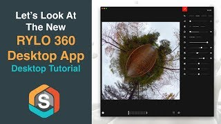 Check out the new Rylo 360 Desktop App.  It