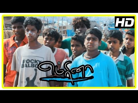 Marina movie scenes | 'Pakoda' Pandi and friends conduct cricket match | Sivakarthikeyan