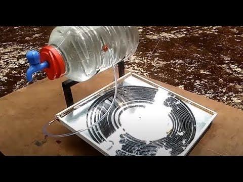 Sun's Hot Water Supply
