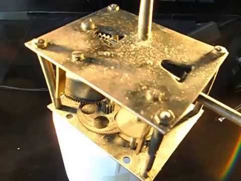 Victrola Motor For Turn Table On Old Record Player Wind Up