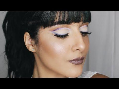 Purple Ombré Cut Crease Makeup Tutorial | Love Jomy
