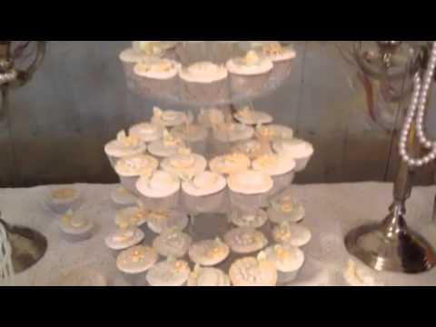 Vintage decoraci n de mesa de dulces para matrimonio youtube for Mesa de postres para boda