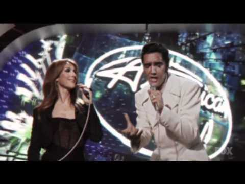 Elvis Presley& Céline Dion   If I Can Dream in HD!
