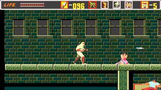 1989 The Revenge of Shinobi SEGA Genesis Old School retro game playthrough