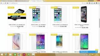 Hướng dẫn tạo trang Web bán hàng online